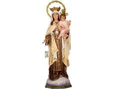 Virgen del Carmen - Imaginería de los talleres de Olot