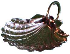 Concha de Bautizo con 6 cm. diámetro