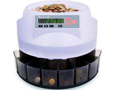 Contadora clasificadora digital de monedas