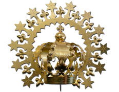Corona imperial con aureola