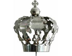 Corona Imperial con Cruz baño de plata