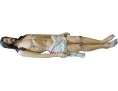 Cristo yacente | Talla de madera