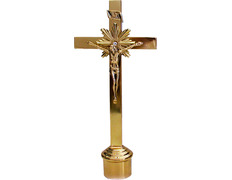 Crucifijo para candelero con INRI