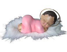 Niño Jesús durmiendo - Marmolina rosa