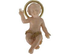 Niño Jesús policromado para Belén
