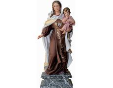 Virgen del Carmen con Niño - Estilo Barroco