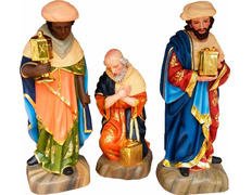 Reyes magos | Tallas de madera