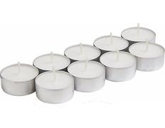 Lamparillas con envase plateado   3,8 x 1,5 cm.
