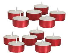 Lamparillas con envase rojo   3,8 x 1,5 cm.