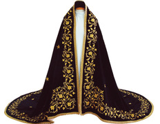 Manto sagrado para imagen de la Virgen María