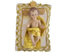 Niño Jesús de 22 cm. con cojín | Marmolina