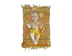 Niño Jesús de 18 cm. con cojín | Marmolina