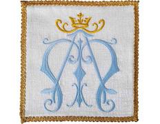 Palia bordado mariano | Conjuntos de Altar