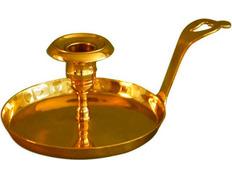 Palmatoria fabricada en bronce