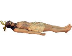 Paso de Semana Santa de Cristo yacente