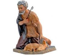 Pastor ofreciendo cordero | Figuras de Belén