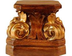 Peana de pasta madera madera