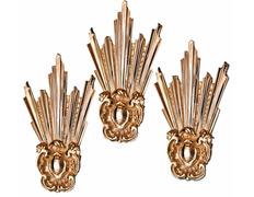 Potencias fabricadas en bronce