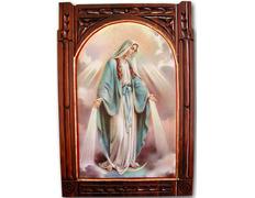 Retablo Virgen Milagrosa | Madera tallada