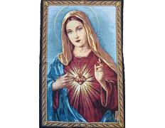 Sagrado Corazón de María - Tapiz religioso
