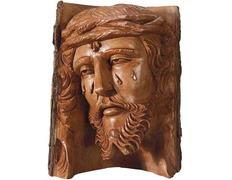 Rostro de Cristo - Talla en madera