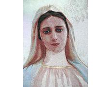 Tapices de la Virgen de Medjugorje