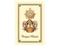 Colgadura para el Corpus Christi