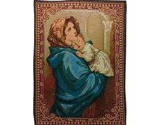 Tapiz de la Virgen con Niño (Madonnina) de Ferruzi