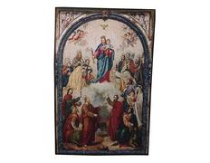 Tapiz de Virgen María Auxiliadora