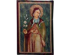 Tapiz de la Oración de Santa Clara de Asís