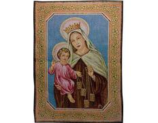 Tapiz día de la Virgen del Carmen, 16 de Julio