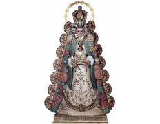 Virgen del Rocío vestida de Reina