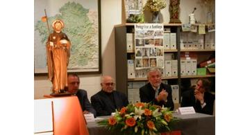 Imágenes religiosas Olot, presentación del Santiago Peregrino