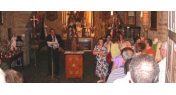 La imagen de Santiago Peregrino en Cacabelos