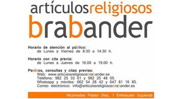 Artículos Católicos Brabander, novedades en la tienda