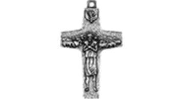 El Papa Francisco y la Cruz del Buen Pastor