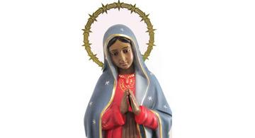 Imagen de la Virgen de Guadalupe, reina y señora de México
