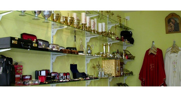 Tienda de orfebrería y ornamentos litúrgicos en Galicia