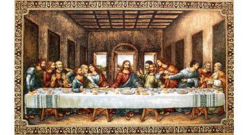 Tapiz de la Última Cena de Leonardo Da Vinci