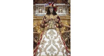 Vestidos de la Virgen María, la Virgen de Rocío