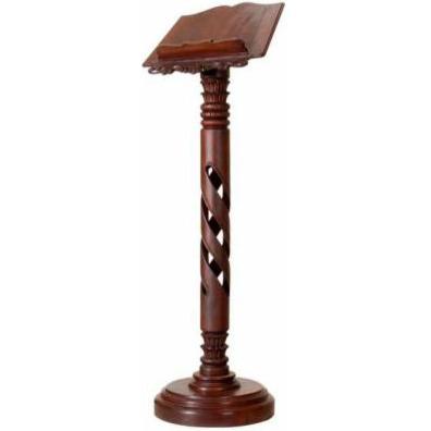 Atril fabricado en madera atril de madera para iglesia for Sillas para iglesia en madera