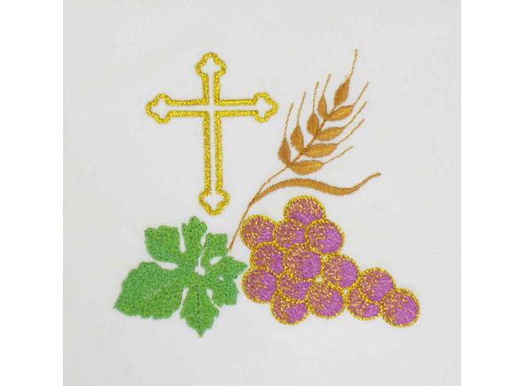 imagen and religiosa and punto and cruz: