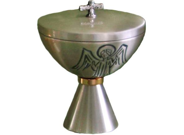 Cop n de metal cincelado con ba o de oro interior for Bano de oro el yunque