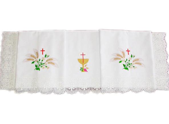 Manteles religiosos manteles religiosos para iglesia - Imagenes de mesas con manteles ...