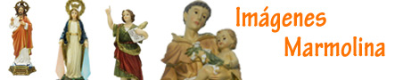 Imágenes religiosas ecónomicas marmolina