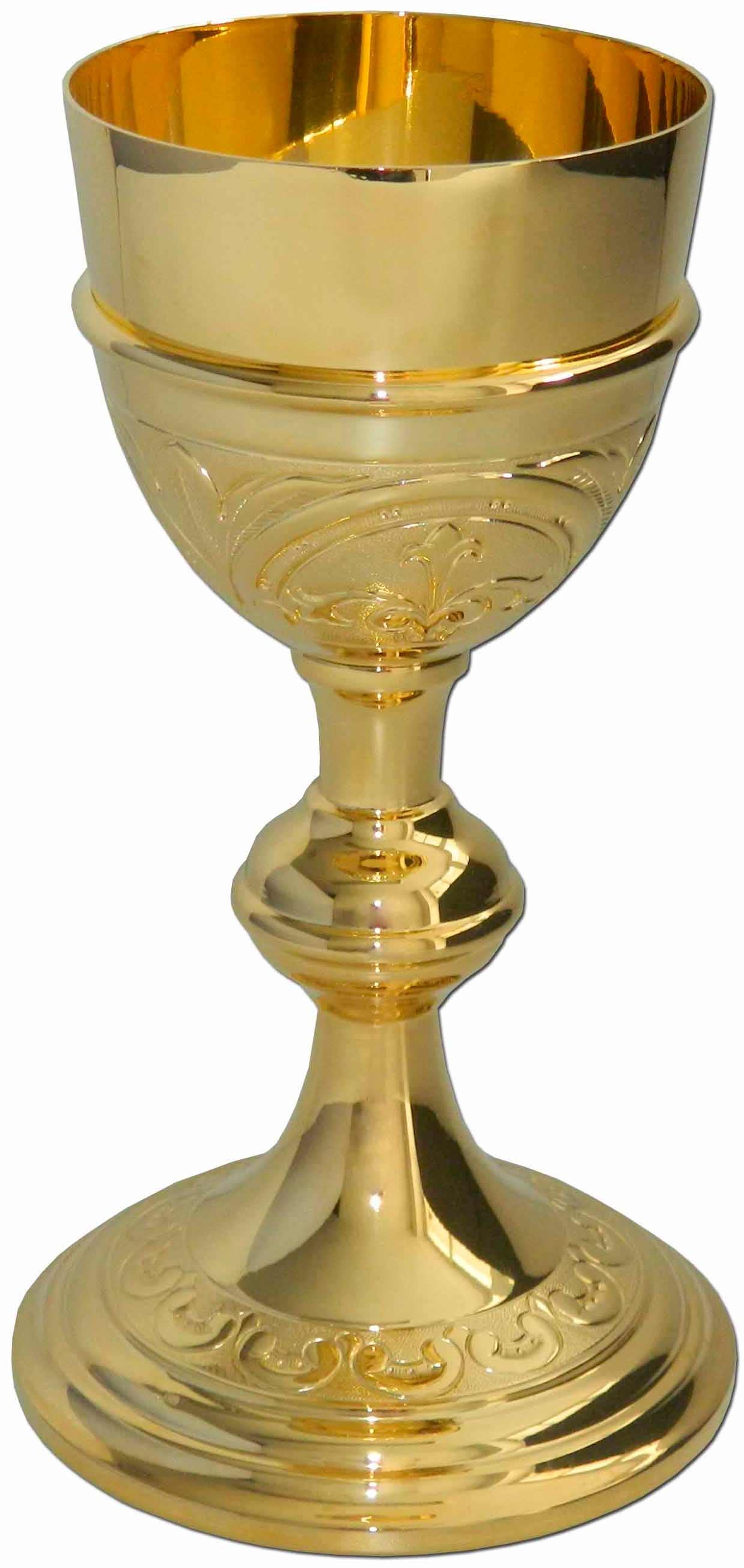 C liz de plata con ba o de oro para liturgia - Bano de oro ...