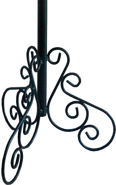 Porta varal de hierro forjado base para cruz parroquial - Colgadores de hierro forjado ...