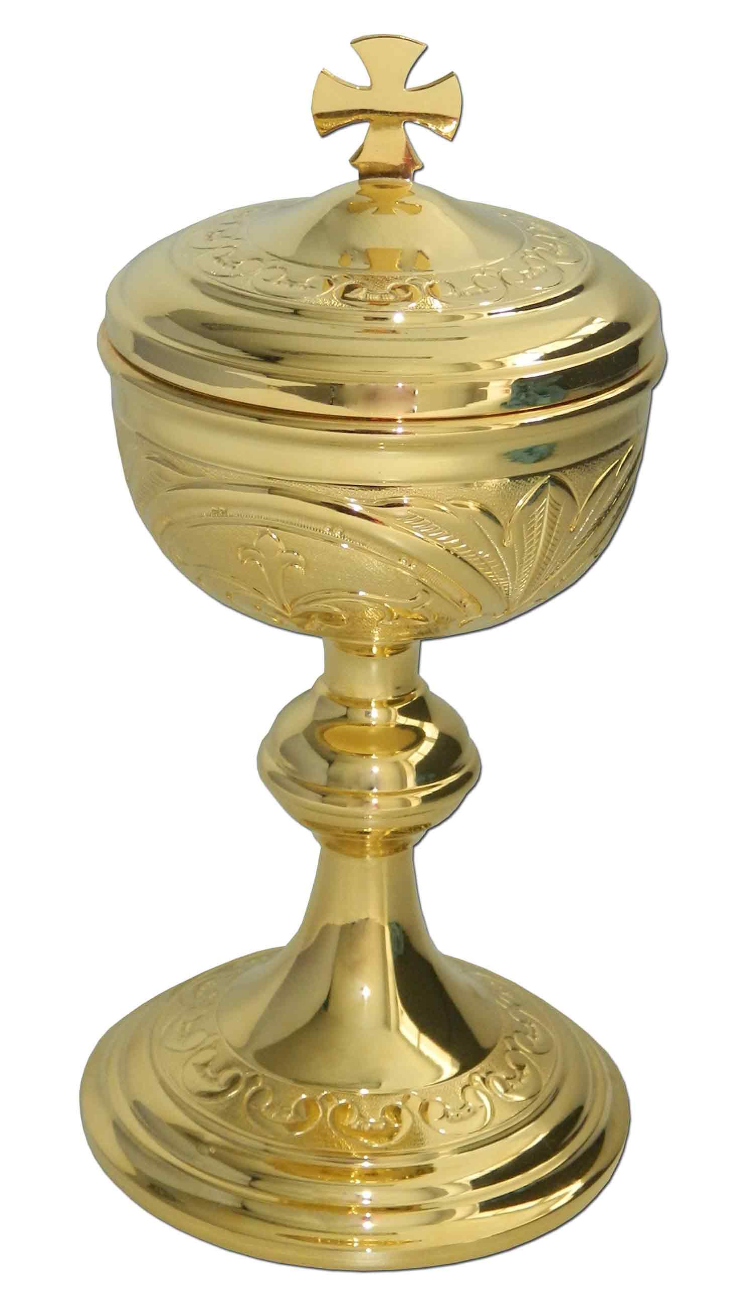 Cop N Religioso De Plata De Ley Con Ba O De Oro