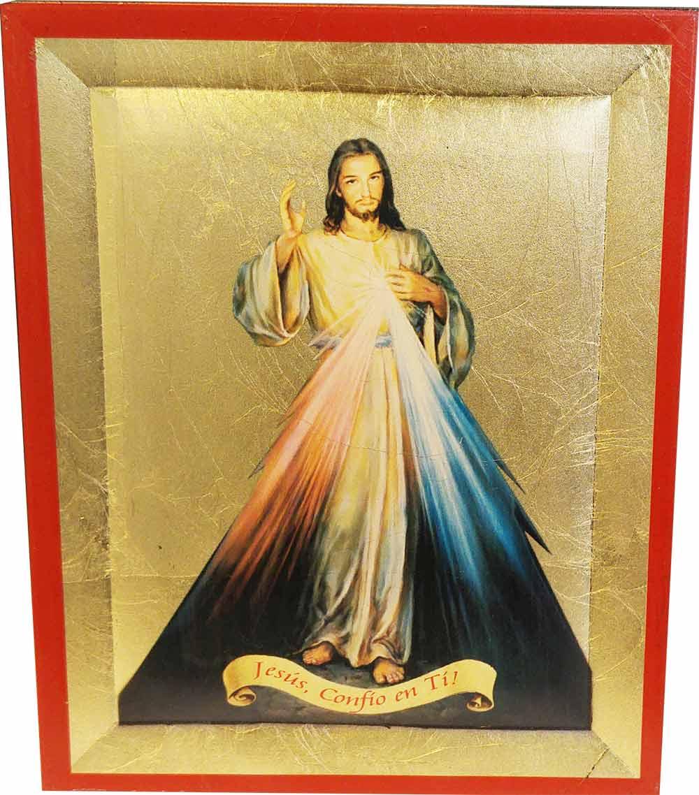 Cuadro religioso cuadro jes s divina misericordia for Cuadros religiosos modernos