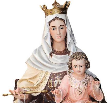 d171a4cb7b5 Figura de la Virgen del Carmen con el Niño - Figura religiosa